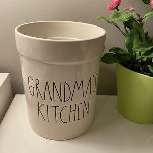 Rae dunn grandma's kitchen crock